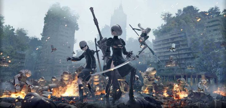 Playstation Now_Nier Automata