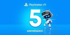 PlayStation®VR celebra o seu quinto aniversário